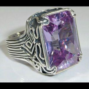 Beautiful Lavender Silpada Ring